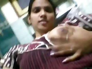 Desi Girl Priya Showing Boobs and Pussy