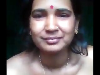 Desi horny aunty fingring and squirt for her lover //Watch Full 17 min Video At