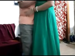 DESI HOUSEWIFE SUCKING WITH ANOTHER MAN IN HOME