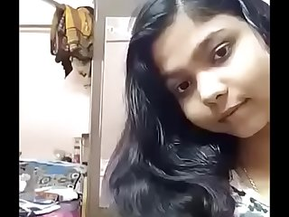 Indian sexy cute babe getting naked