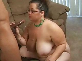 Chubby bitch is screwed