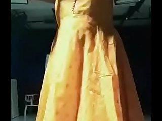 Swathi naidu latest dress change part3