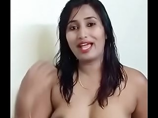 Swathi naidu telling how to contact her