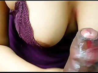 Desi girl gives an amazing blowjob to her boss