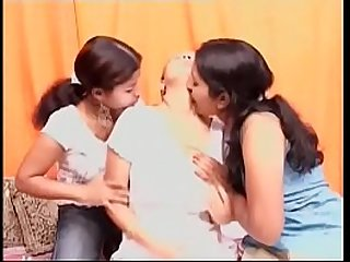 hot indian lesbos having fun