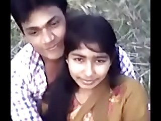 Cute Desi village girl boobs pressing by Narsingbari
