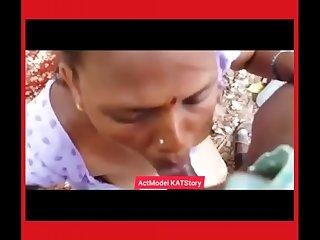Desi aunty Blowjob sex for money